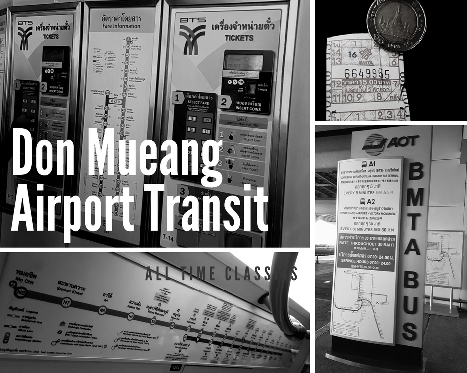 Taking Public Transportation from Don Mueang Bangkok Thailand Toronto Seoulcialite